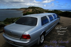 014 LeGrand Limousine Central Ford LTD Super Stretch wedding at Portsea