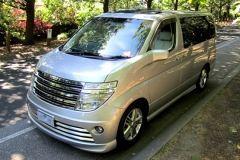 LeGrand Limousine Central - Melbourne - Nissan ElGrand Rider seats 5 passengers in luxury people mover hire 001
