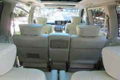 LeGrand Limousine Central - Melbourne - Nissan ElGrand Rider seats 5 passengers in luxury people mover hire 007
