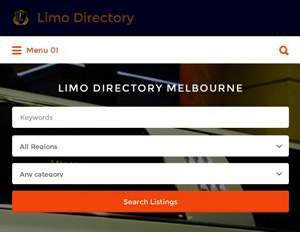 300 x 232 Limo directory Melbourne