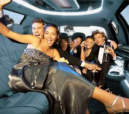 Limousine hire services - LeGrand_Limo_Party_pic_in_limo